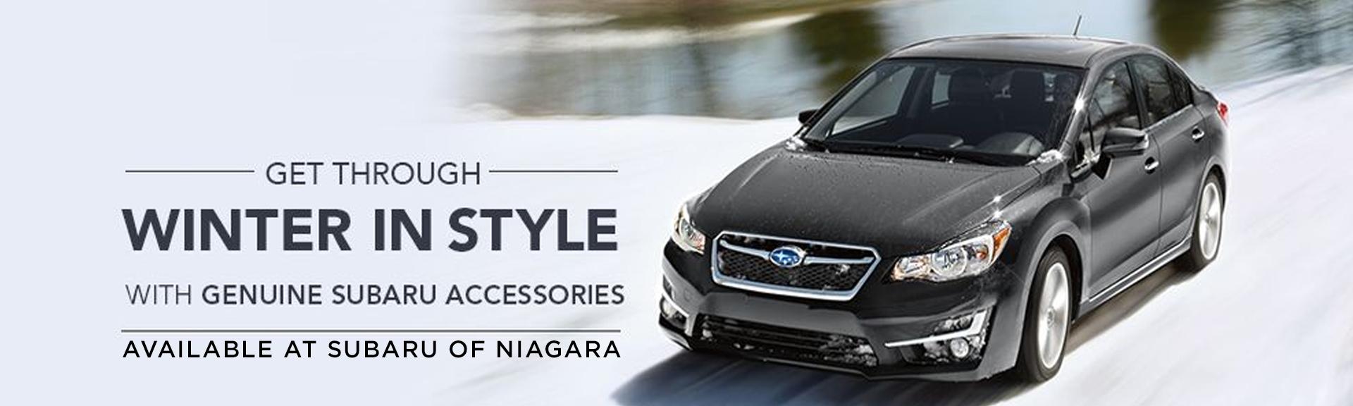 Get genuine Subaru accessories at Subaru of Niagara