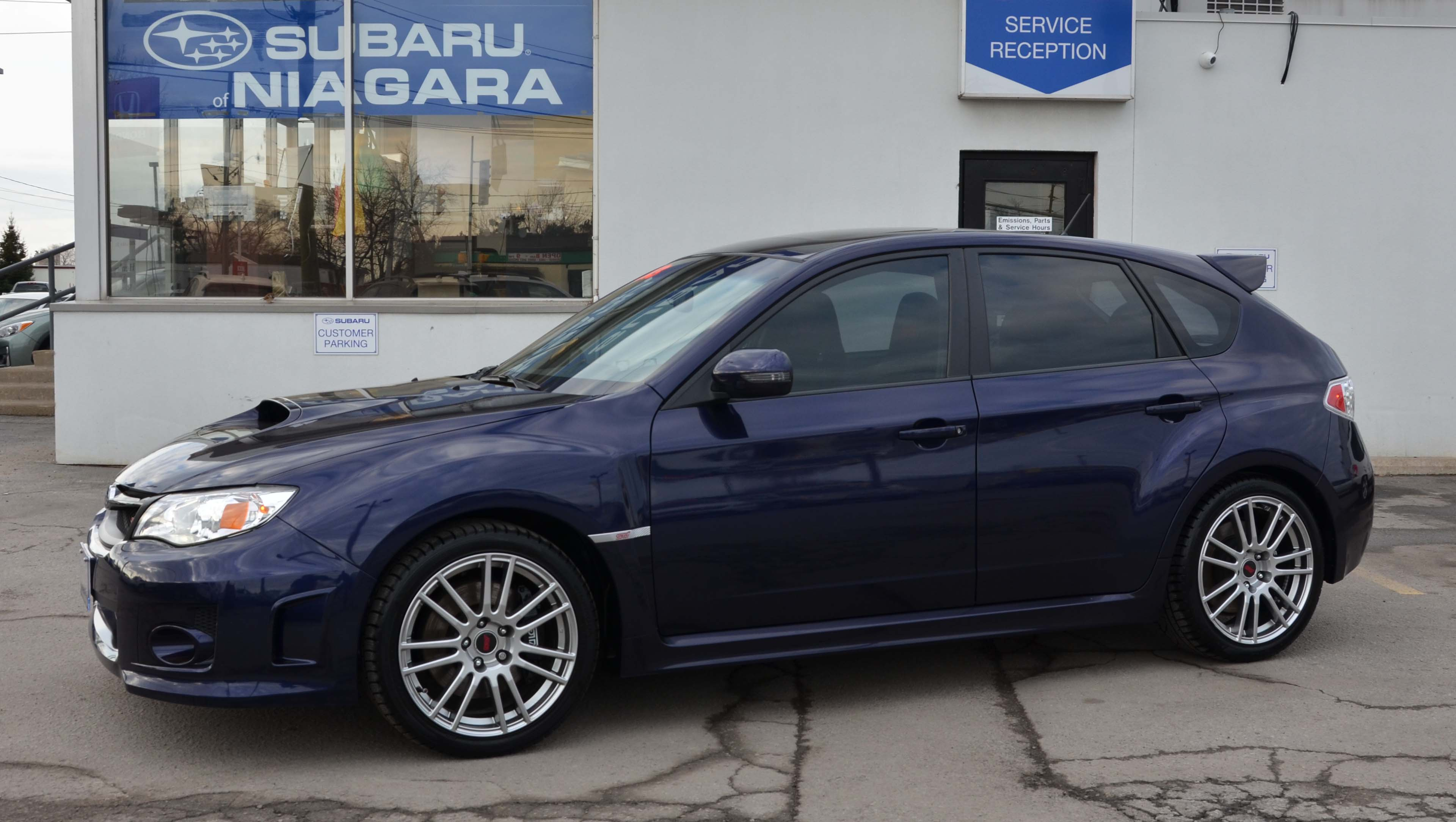 Ssuper Rare 2013 Subaru Sti For Sale Subaru Of Niagara