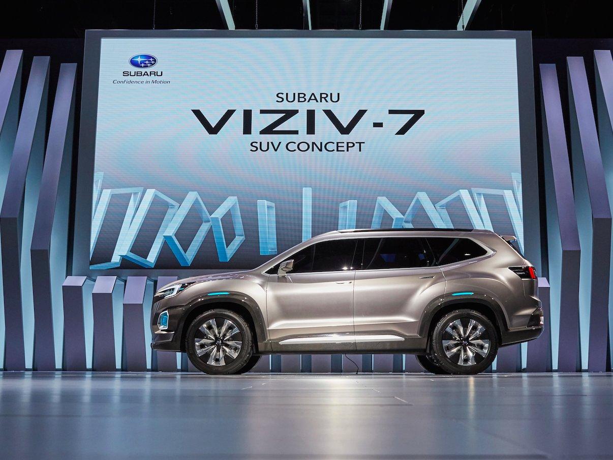 Subaru suv viziv 7