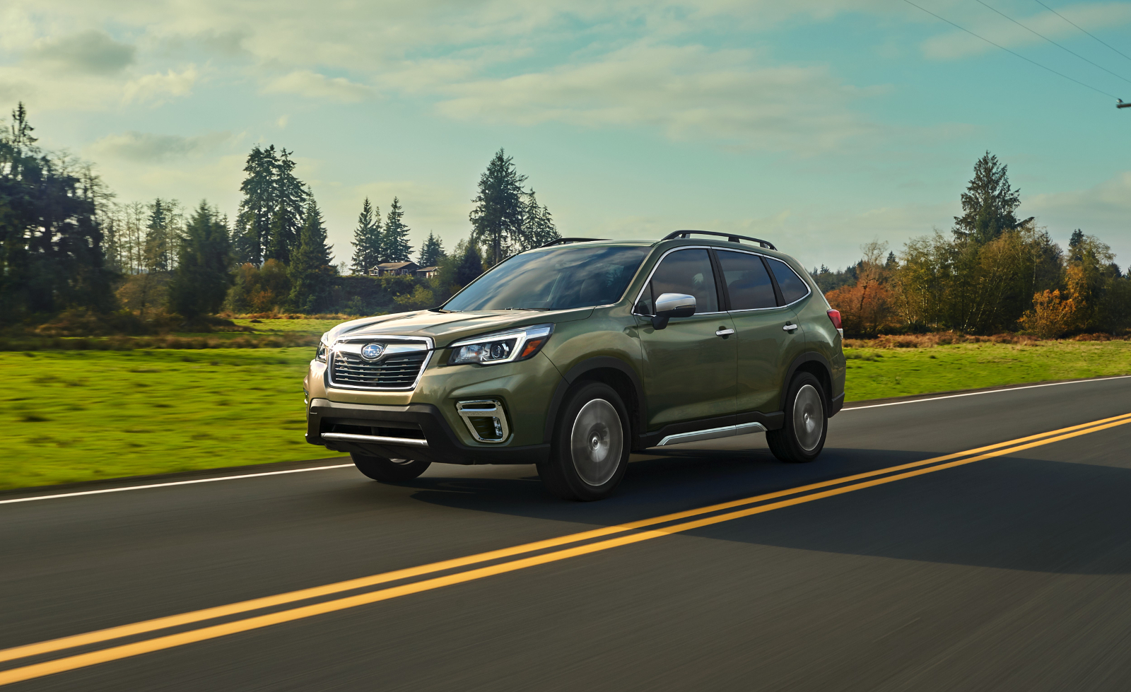 The 2019 Subaru Forester Introduces Facial Recognition