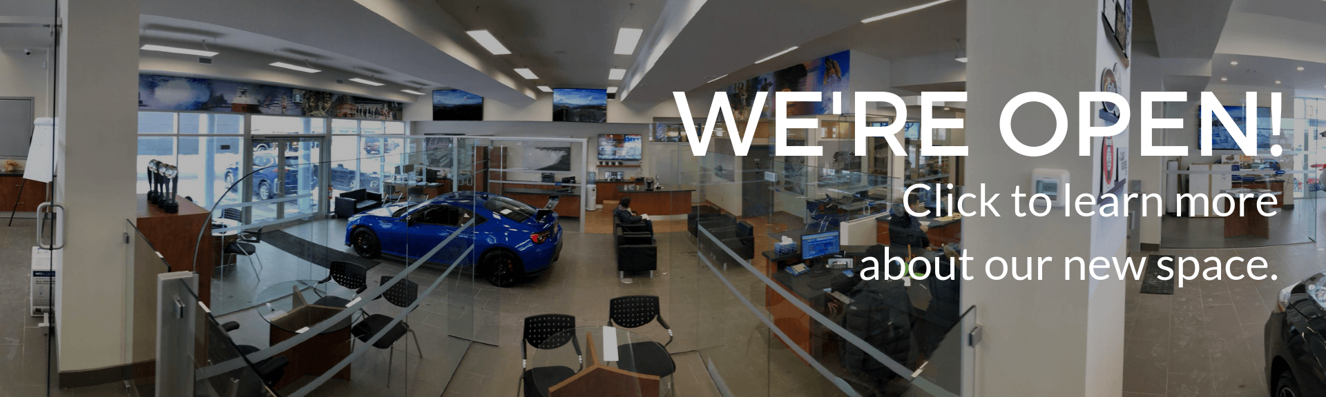 subaru of niagara is officially open